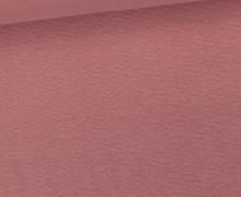 WOW Angebot - Glattes Bündchen - Uni - Schlauch - Altrosa