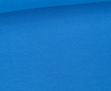 WOW Angebot - Glattes Bündchen - Uni - Schlauch - Cyanblau