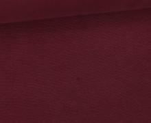 WOW Angebot - Glattes Bündchen - Uni - Schlauch - Bordeaux Hell
