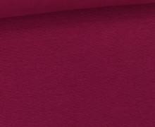 WOW Angebot - Glattes Bündchen - Uni - Schlauch - Beere
