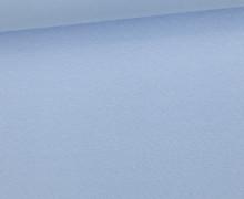 WOW Angebot - Glattes Bündchen - Uni - Schlauch - Babyblau Hell