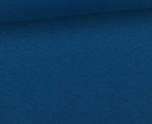 WOW Angebot - Glattes Bündchen - Uni - Schlauch - Meerblau