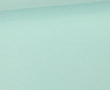 WOW Angebot - Glattes Bündchen - Uni - Schlauch - Mint Hell