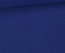 WOW Angebot - Glattes Bündchen - Uni - Schlauch - Royalblau