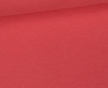 WOW Angebot - Glattes Bündchen - Uni - Schlauch - Lachsrosa