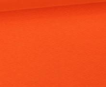 WOW Angebot - Glattes Bündchen - Uni - Schlauch - Orange