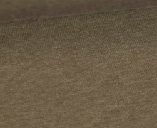 Jersey - Uni - Hochwertig - 150cm - Braun Meliert