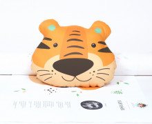 Kissenstoff - DIY - Tiger Toni - Sammelwimpel - Anna Anjos - abby and me