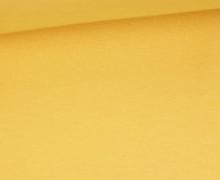 WOW Angebot - Glattes Bündchen - Uni - Schlauch - Gelb