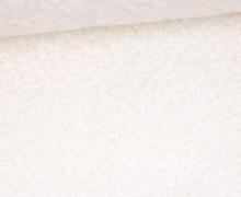 Woll Boucle - Uni - Weiß