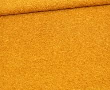 Woll Boucle - Uni - Senfgelb