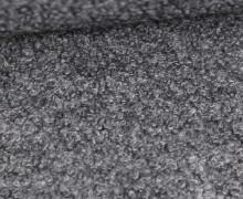 Woll Boucle - Uni - Grau