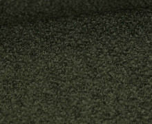 Woll Boucle - Uni - Dunkelgrün