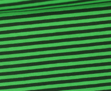 Jersey - Streifen - Grün/Dunkelgrün
