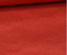 Kunstleder - Fashionstoff - Nappa - Uni - 140cm - Rotgold