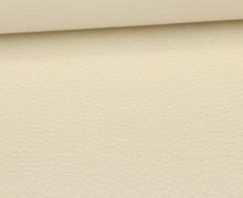 Kunstleder - Fashionstoff - Nappa - Uni - 140cm - Perlmutt