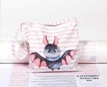 DIY-NÄHSET - Kleine Süßigkeiten Sammel-Tasche - Halloween - Fledermaus - abby and me