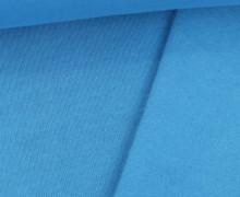 Kuschelsweat Bjarne - Uni - Kaum Elastisch - Cyanblau