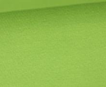 WOW Angebot - Glattes Bündchen - Uni - Schlauch - Apfelgrün