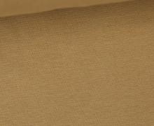 WOW Angebot - Glattes Bündchen - Uni - Schlauch - Beige