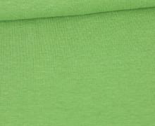 WOW Angebot - Glattes Bündchen - Uni - Schlauch - Maigrün