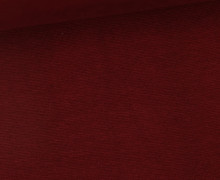 WOW Angebot - Glattes Bündchen - Uni - Schlauch - Bordeaux