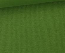 WOW Angebot - Glattes Bündchen - Uni - Schlauch - Tannengrün