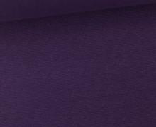 WOW Angebot - Glattes Bündchen - Uni - Schlauch - Purple