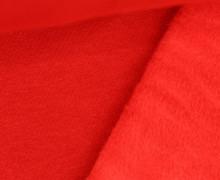 Alpenfleece - Kuschelstoff - Uni - Rot