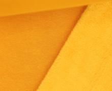 Alpenfleece - Kuschelstoff - Uni - Maisgelb