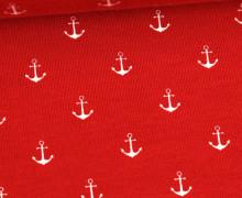 Jersey - Anker - Mittel - Rot/Weiss