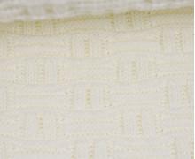Jersey Strickstoff - Uni - Weiß