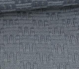 Jersey Strickstoff - Uni - Grau