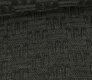 Jersey Strickstoff - Uni - Graubraun Dunkel