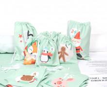 DIY- Adventskalender - Säckchen - Zum Selber Nähen - Mint - Weihnachten - abby and me