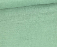 Musselin - Muslin - Double Gauze - Uni - 125g - Schnuffeltuch - Windeltuch - Lichtgrün
