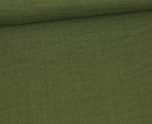 Musselin - Muslin - Double Gauze - Uni - 125g - Schnuffeltuch - Windeltuch - Olivgrün