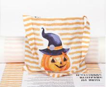 DIY-NÄHSET - Kleine Süßigkeiten Sammel-Tasche - Halloween - Kleiner Kürbis - abby and me