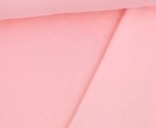 Kuschelsweat - Uni - Pastellrosa - Sweat Alva - geraut - Brushed
