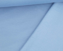 Kuschelsweat - Uni - Graublau Hell - Sweat Alva - geraut - Brushed
