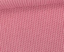 Bio-Jacquard - 3D - Knit Knit - Bliss - Rosa - Hamburger Liebe