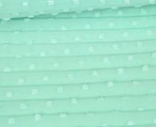 Fashionstoff - Plissee - Uni - Mint