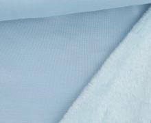 Alpenfleece – Kuschelstoff – Uni – Hellblau