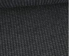 Weicher Seemanns Strick - Strickstoff - Baumwolle - Uni - Grau