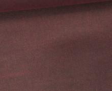 Oil Skin - Gewachste Baumwolle - Oilskin - Uni - Bordeaux