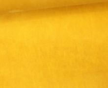 Oil Skin - Gewachste Baumwolle - Uni - Maisgelb