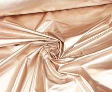 Leichter Regenjacken Stoff - Windbreaker - Uni - Wasserabweisend - Elastisch - Glänzend - Rosegold