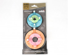 addiMoon PomPom Set - PomPom Maker - 4 Verschließbare Ringe - Bunt