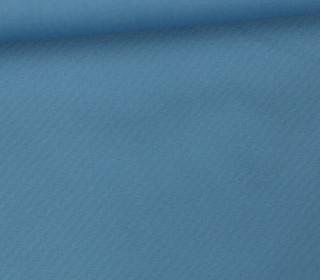 Baumwollstoff - Webware - Popelin - Uni - 150cm - Taubenblau