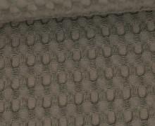 Waffel Piqué - Große Waffelstruktur - Baumwolle - Uni - Taupe
